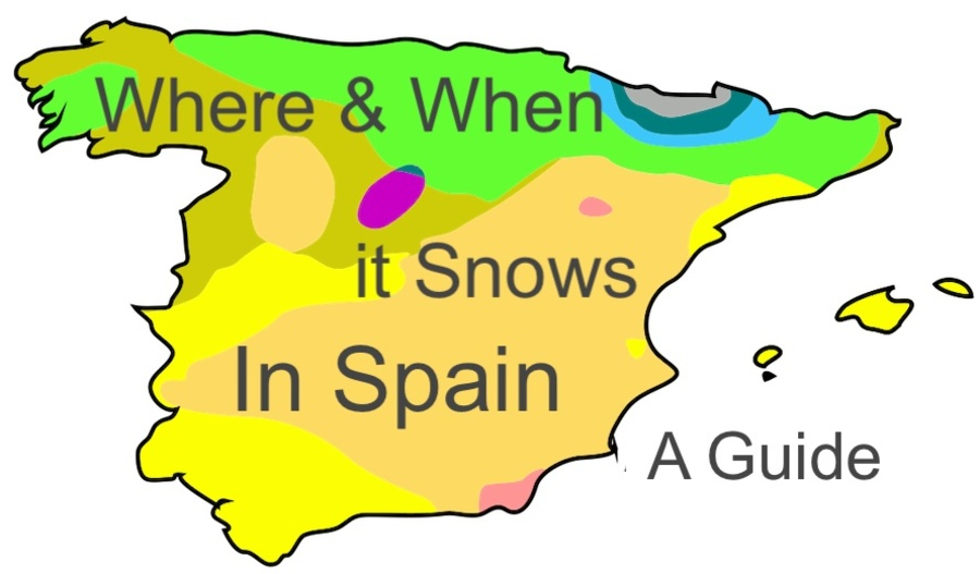 Does It Snow in Spain Where and When Guide: Spain Guides | Does It Snow in Spain Where and When Guide